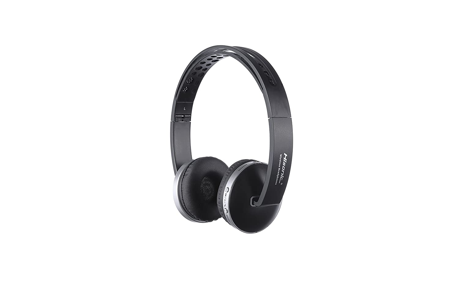 Auriculares Bluetooth Inalámbrico, Hisonic Casco Bluetooth con Tarjeta TF , Micrófono incorporado , Auriculares Bluetooth de Diadema Plegable para TV, PC, ...