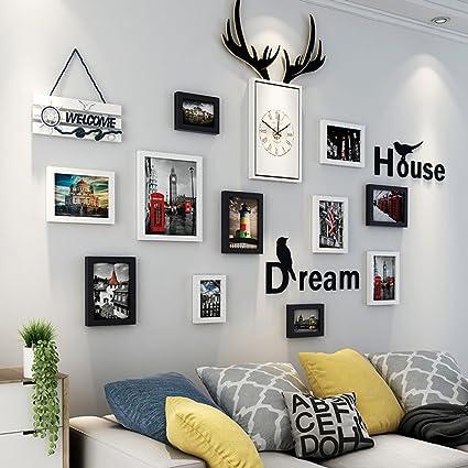 Swell Amazon Com Peaceipus 11 Multi Photo Frames Set Modern Interior Design Ideas Helimdqseriescom