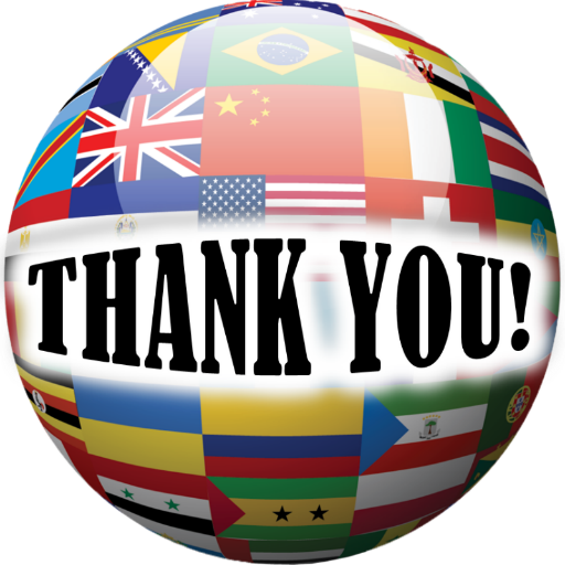 Thank you (different languages)