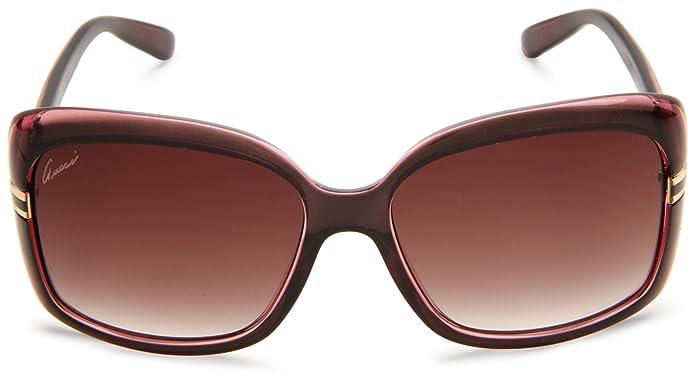 b11ed190bc1 New GUCCI Sunglasses GG 3188 GG3188 0R4 JS Brown Grey Women  Amazon.co.uk   Clothing