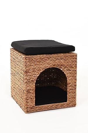Vivanno Gato Cesta gato cueva gato Casa Perros cesta perros cama con almohada Alina jacinto