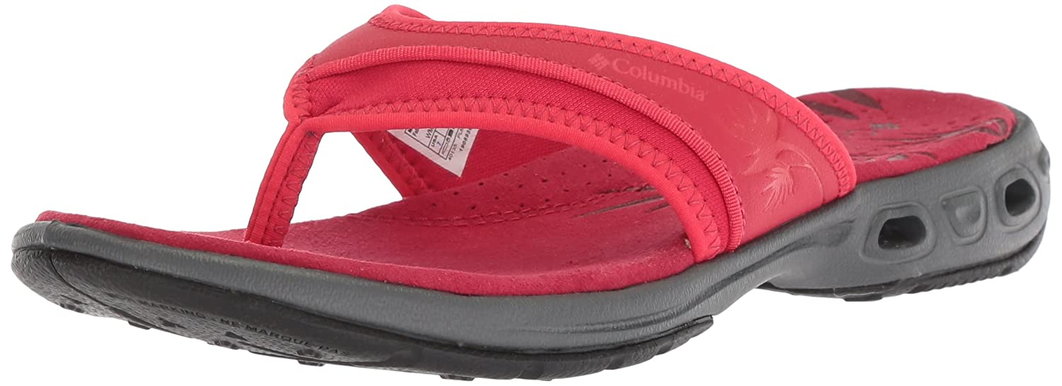 Columbia Women's Kambi Vent Sandal B073RNQDLJ 5 B(M) US|Candy Apple, Red Camellia
