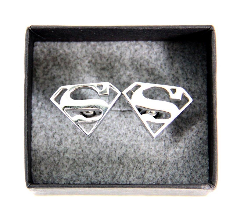 DC Comics Superman Stainless Steel Cufflinks