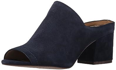spelndid navy blue velvet sofa. Splendid Women s Danica Mule  Navy Amazon com Shoes