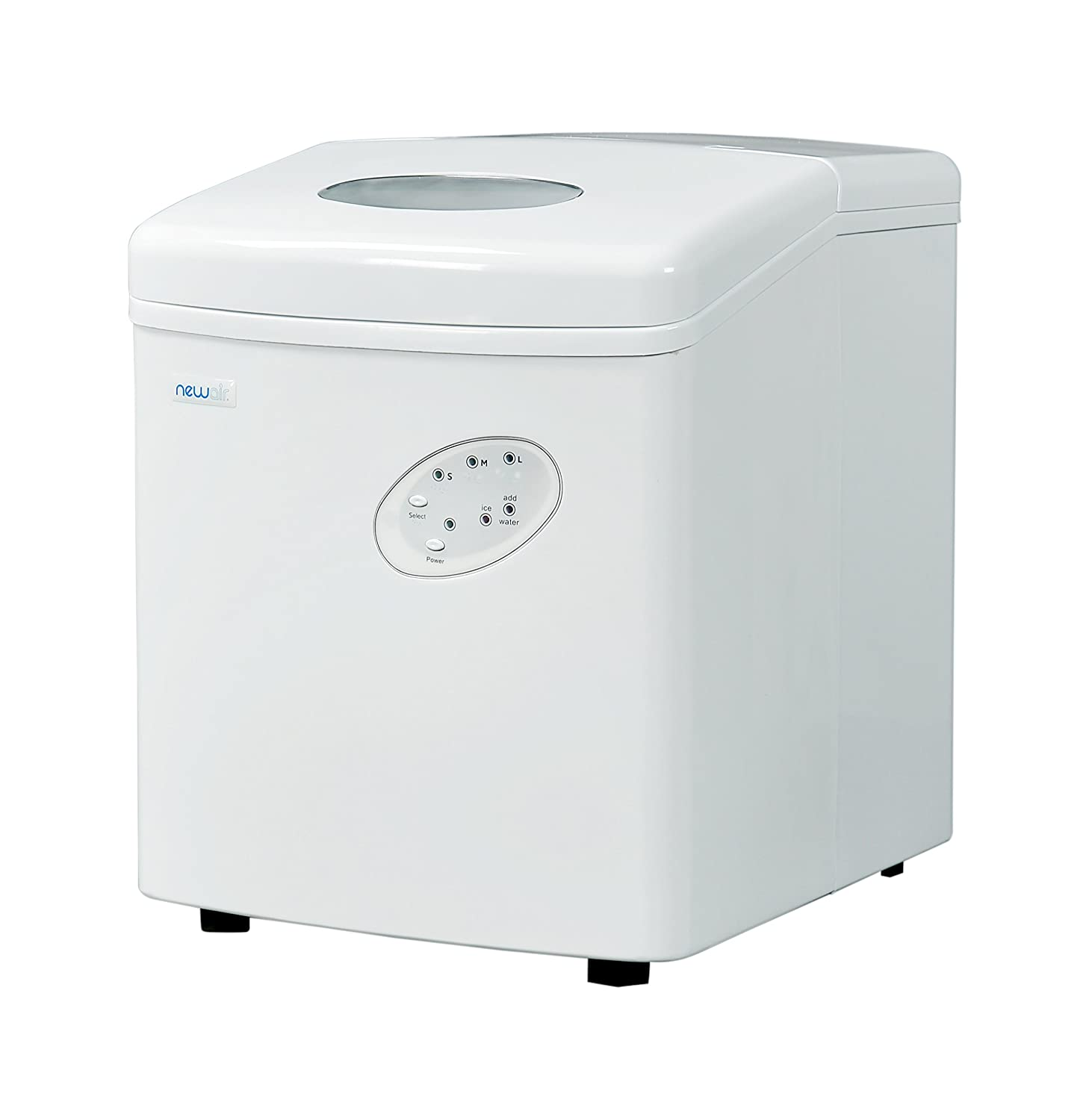 NewAir AI-100W Ice Maker 28 Pound White