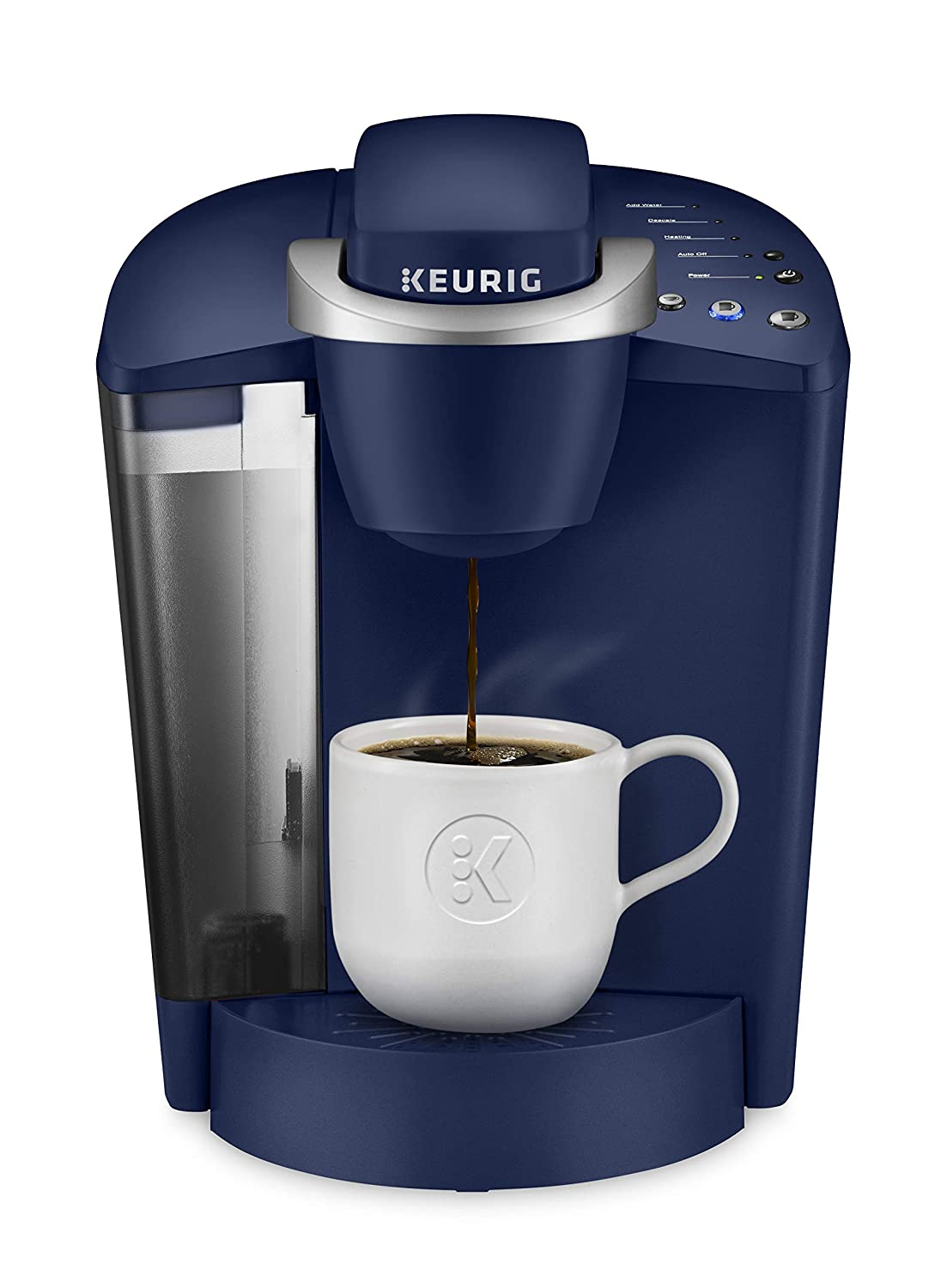 Keurig K-Classic Coffee Maker, K-Cup Pod, Single Serve, Programmable, Patriot Blue