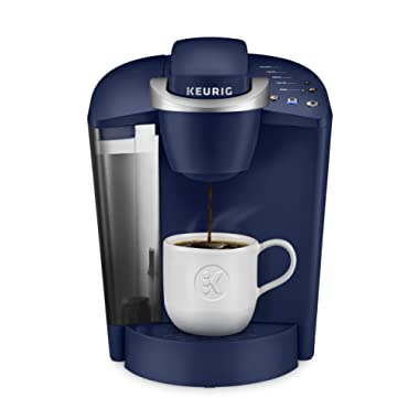 Keurig K-Classic Coffee Maker, Single Serve K-Cup Pod Coffee Brewer, 6 to 10 oz. Brew Sizes, Blue