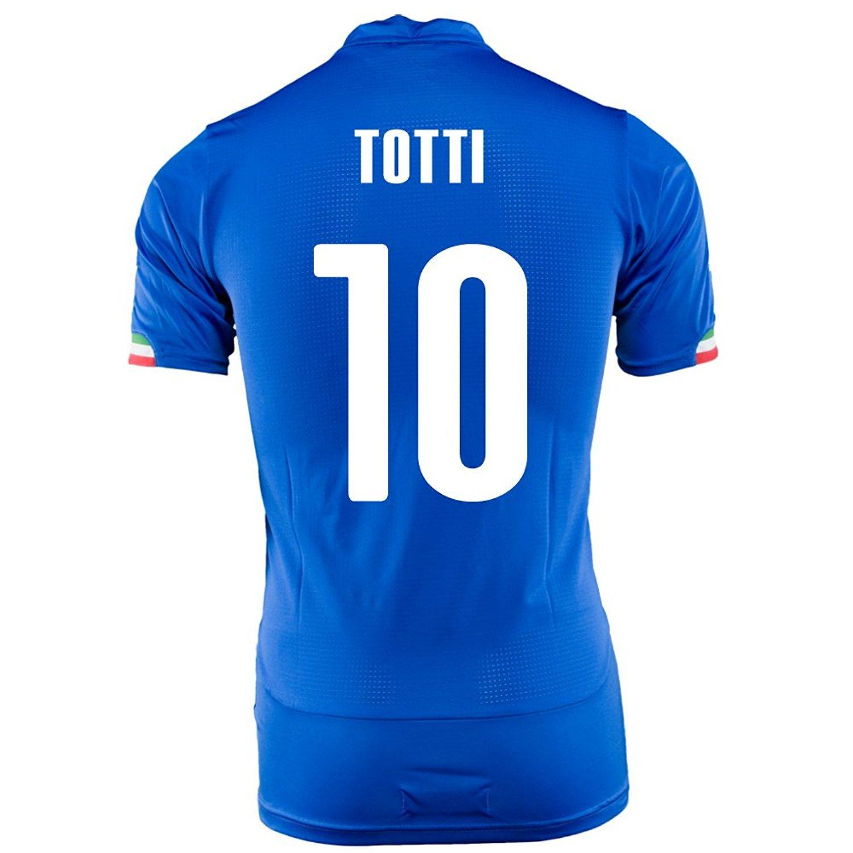 PUMA TOTTI #10 ITALY HOME JERSEY WORLD CUP 2014/サッカーユニフォーム イタリア ホーム用 ワールドカップ2014 背番号10 トッティ B00JSB28L6 S