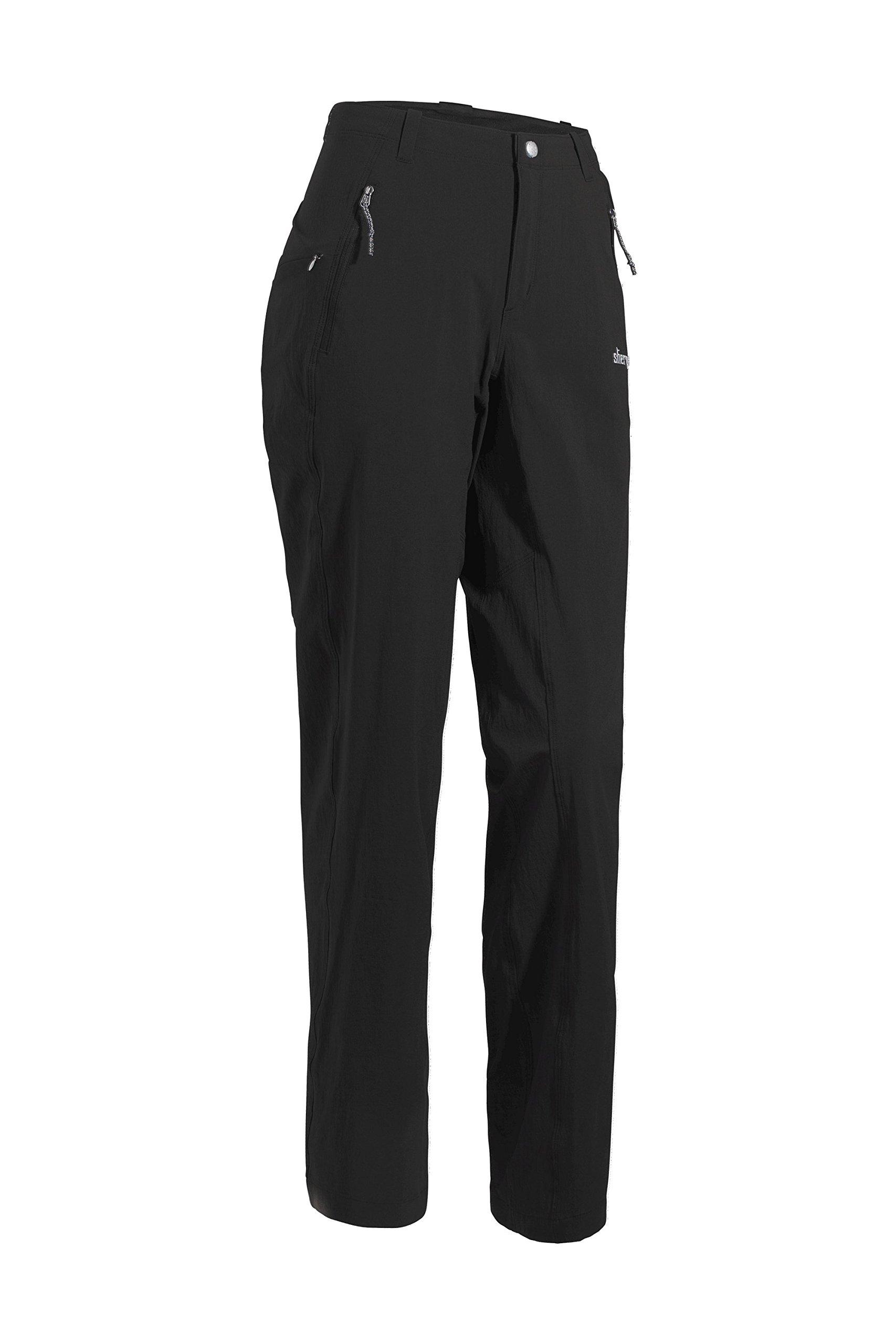 Sherpa Adventure Gear Women's Naulo Pant, Black, 8 x 32