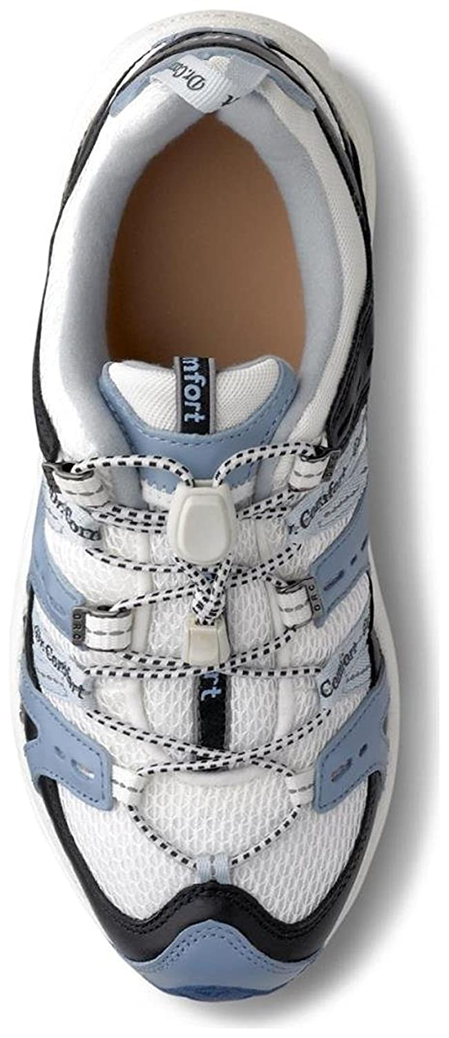 Dr. Comfort Women's Refresh Diabetic Athletic Shoes B00IO83NV8 4 C/D US|Blue