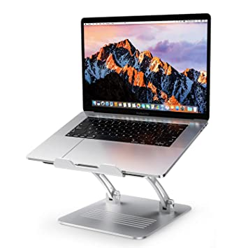 Amazon.com: OMOTON - Soporte para portátil (aluminio, altura ...