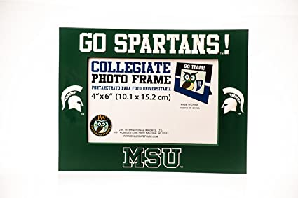Collegiate Pulse Michigan State Spartans NCAA PVC Photo Frame