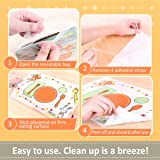 Sticky Adhesive Disposable Placemats Baby 60