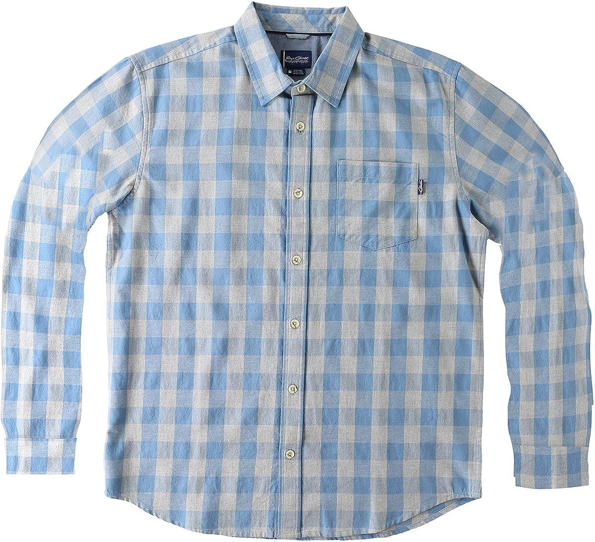 ONeill Mens Jack Belcourt Button Up Long-Sleeve Shirt