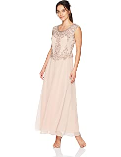 8a9aecb00175d J Kara Women's Beaded Empire Waist Gown Petite at Amazon Women's ...