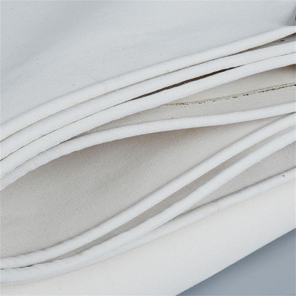 Plane Persenning Weißer staubdichter wasserdichter Planen-LKW Planen-LKW Planen-LKW verschüttete Stoff-Boden-Blatt-Abdeckungs-Zelt-Unterlage für das Kampieren und das im Freien Abdeckplanen (größe   2MX2M) B07PPMG74Q Zeltplanen Eigenschaften 686c76