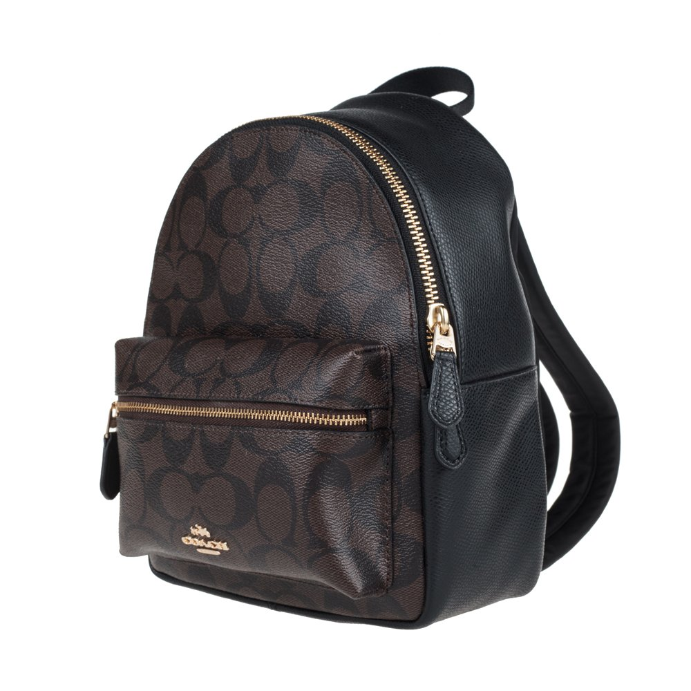 Amazon.com  Coach Women s backpack F38302 (Dark brown IMAA8)  Shoes cb2ebb9efb1bd
