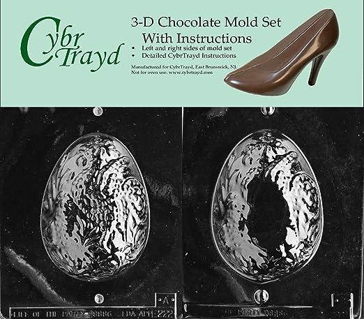Cybrtrayd E222AB Molde para chocolate, incluye moldes de chocolate ...