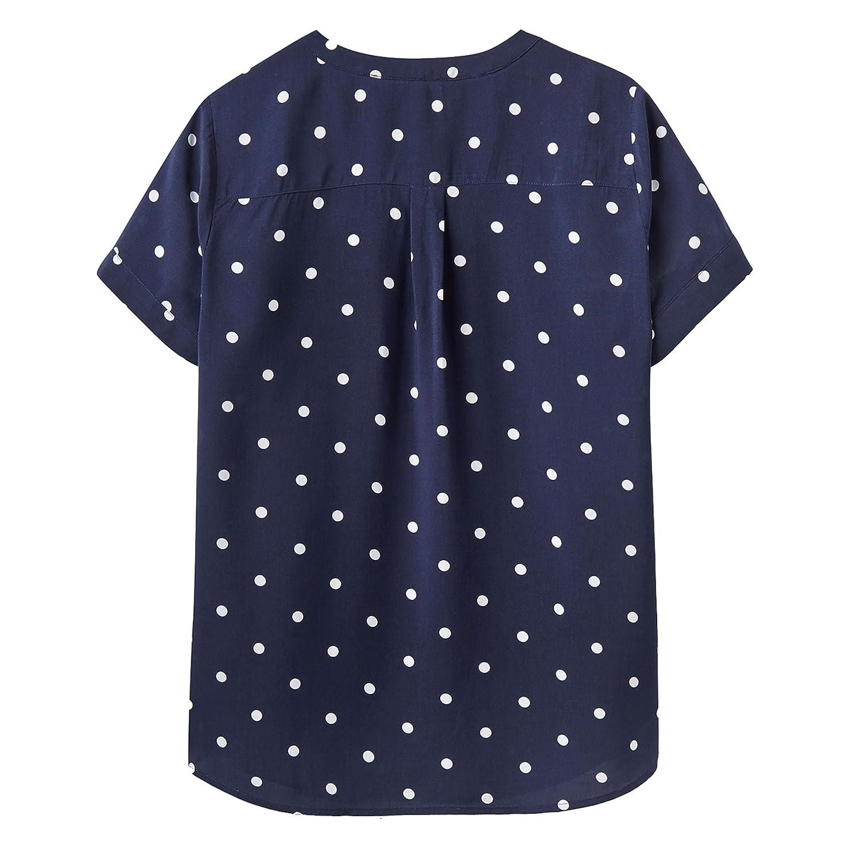 ba48357dd14ef9 Joules Iona Top 16 French Navy Elsa Spot: Amazon.co.uk: Clothing