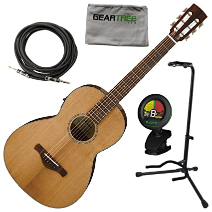 Ibanez AVN9SPENT Artwood Vintage Thermo Aged Parlor Acoustic Electric Guitar Nat