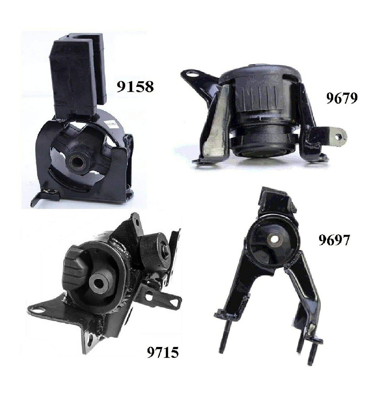 8USAUTO 4 PCS Motor /& Trans Mount FIT 2005-2010 Scion tC 2.4L
