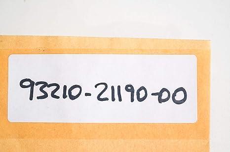 Yamaha 93210-21190-00 O-RING; 932102119000