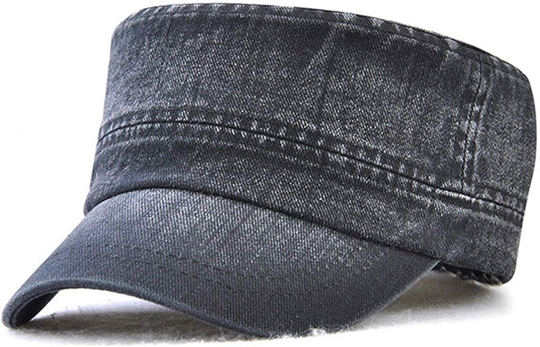 2019 Solid Colors Military Hat Flat Hats for Men Women Army Cap Captain Hats Z-6458