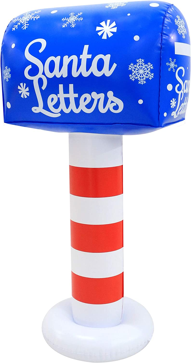 Occasions 3 5 Tall Pvc Inflatable Mailbox Garden Outdoor