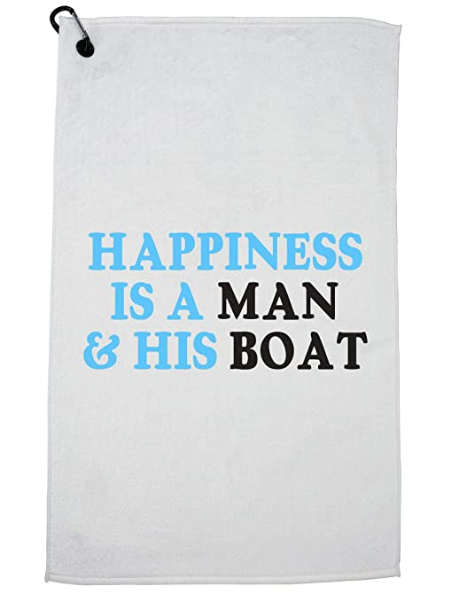 1d468d7b3 Amazon.com : Hollywood Thread Happiness is A Man & His Boat - Summer ...