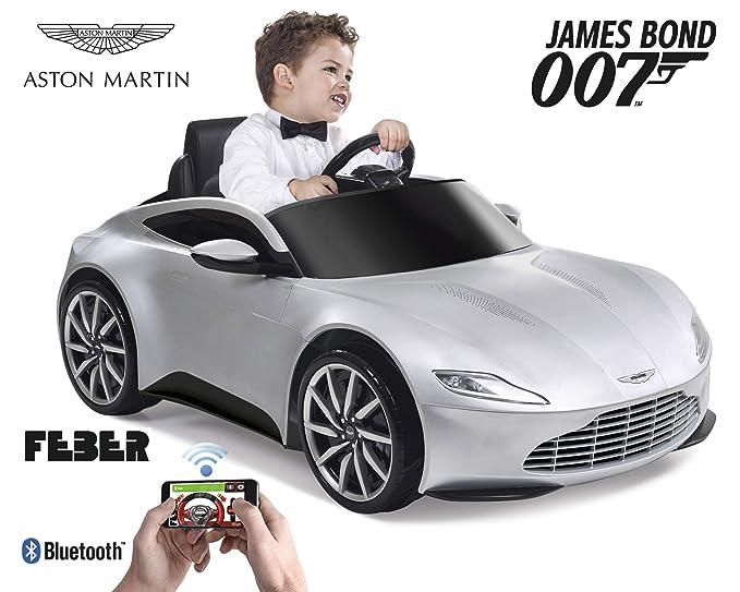 FEBER - Vehículo infantil 007 Aston Martin 6V con radiocontrol (Famosa 800010670): Amazon.es: Juguetes y juegos