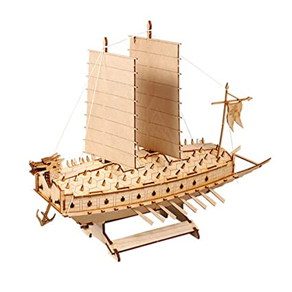 Battleship Turtle Ship Model Kits Korean Classic Warship Wood By Young Modeler