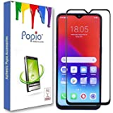 POPIO Tempered Glass Screen Protector Edge to Edge 5D 6D for Realme U1