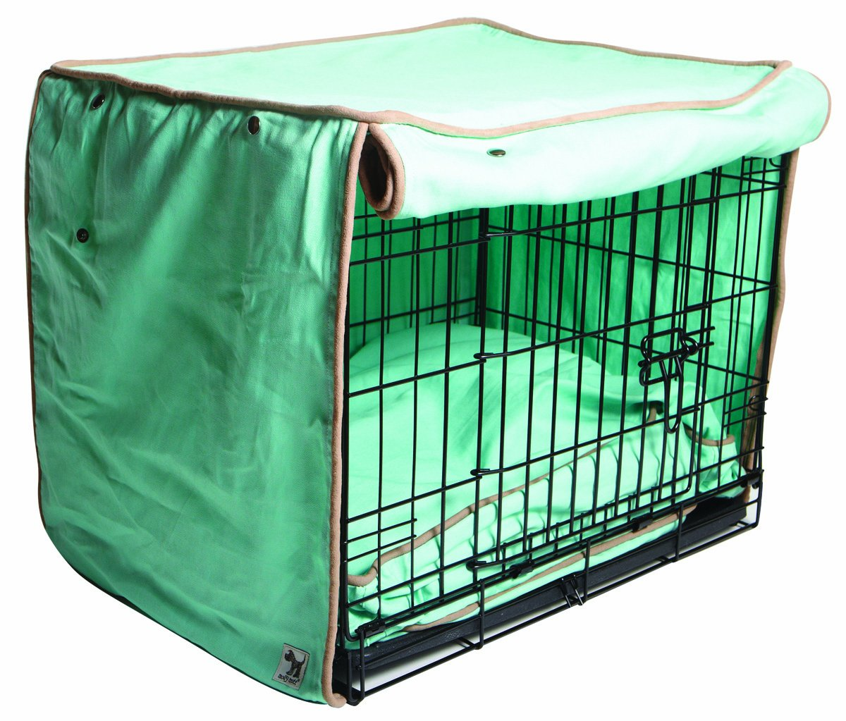Big Molly Mut Night Swimming Crate Cover, Big