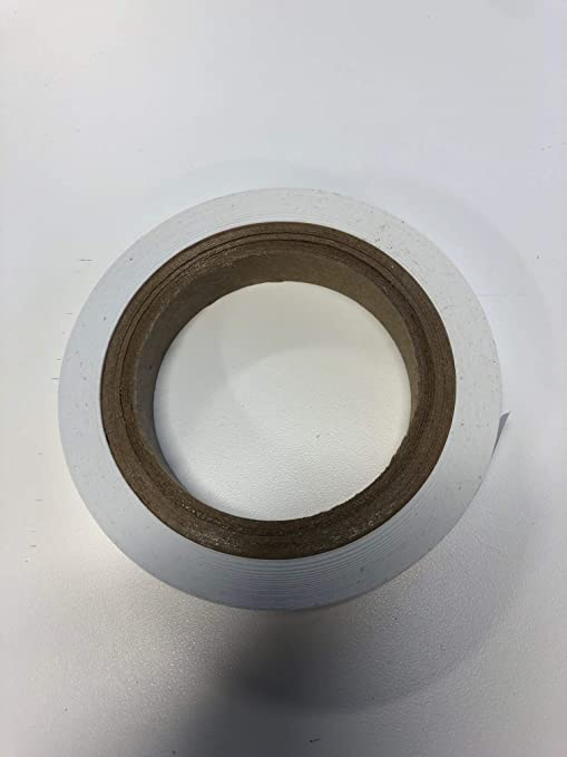"3//4/"" x 60 yard White Console Tape"