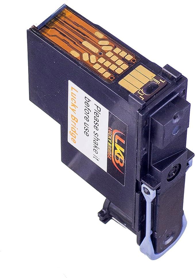 Lucky Bridge C4820A - Cabezal de Impresión HP80 con Color Negro ...