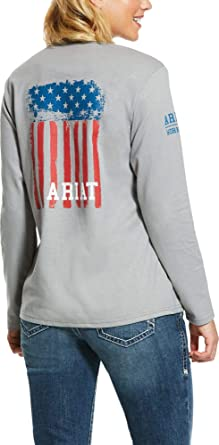 ARIAT Women's Navy America Graphic Fr T-Shirt - 10030319