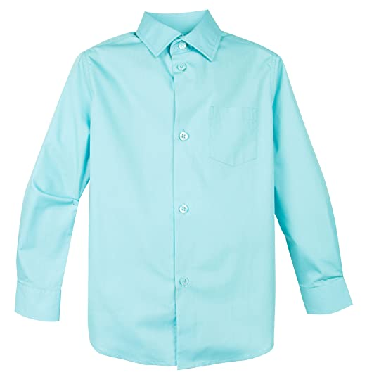 aba50f2b45b Amazon.com  Spring Notion Big Boys  Long Sleeve Dress Shirt  Clothing