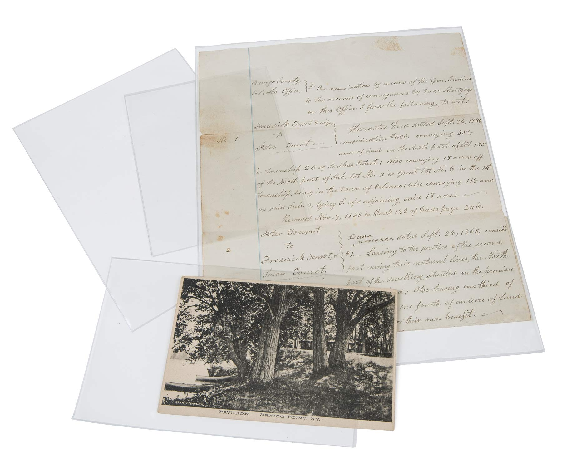 Gaylord Archival Polypropylene Preservation Sleeves Variety Pack by Gaylord Archival