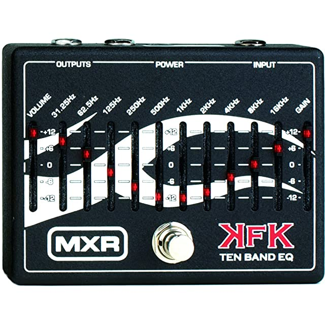 エフェクター画像 MXR KFK1 Ten Band Equalizer