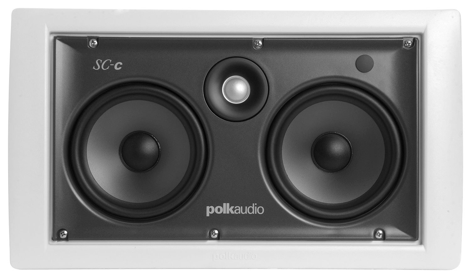 POLK AUDIO SC C In-Wall Speaker Home Audio Crossover, White (AW0355-A)