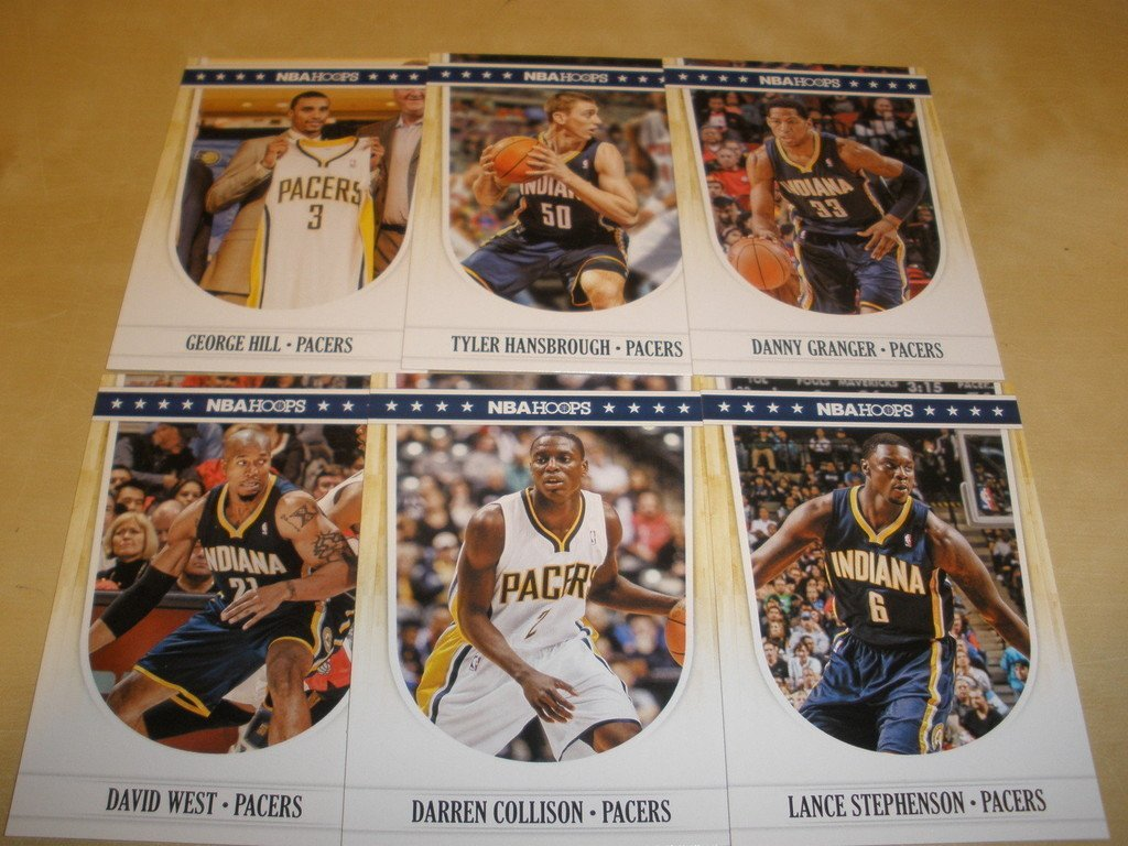 ac4b185a3891 Amazon.com   2011 12 Panini Hoops Indiana Pacers Team Set (6 Cards) Danny  Granger