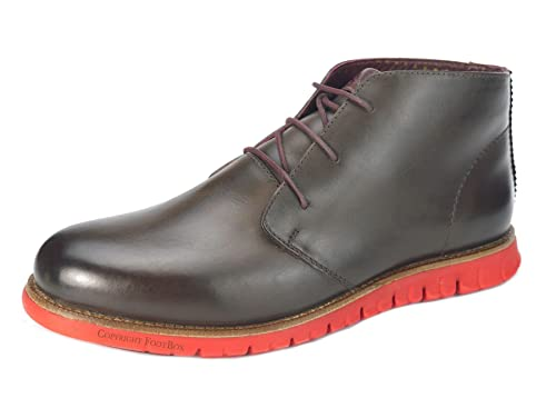 London Brogues Gatz Chukka Leather Lightweight Flexible Mens Ankle Boots:  Amazon.co.uk: Shoes & Bags