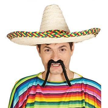 Sombrero Mejicano de paja 50 cms  Amazon.es  Juguetes y juegos 8113422674e