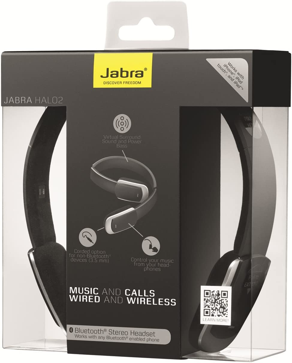 Jabra Halo 2 Stereo Bluetooth Headset