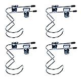 Baihoo Set of 4 Adjustable Boot Hangers