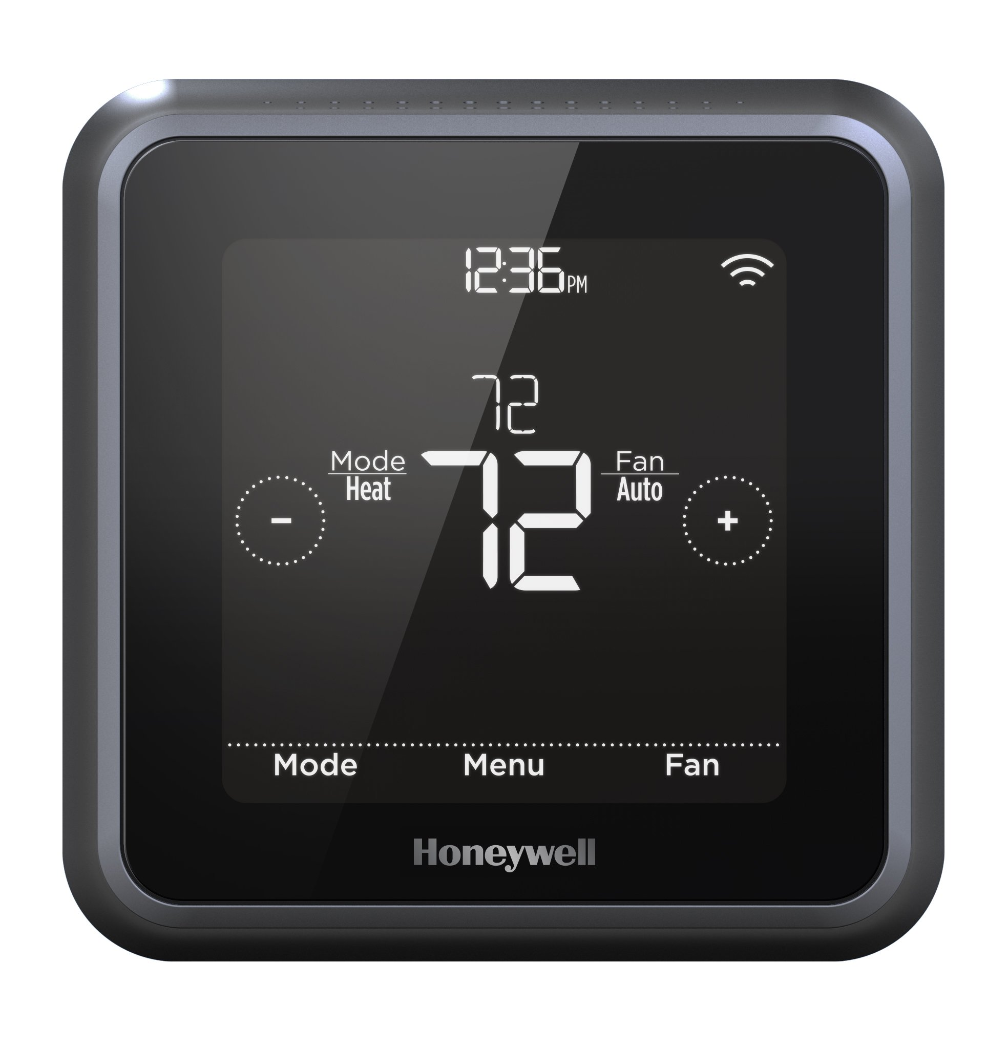 Honeywell Home RCHT8612WF T5 Plus Wi-Fi Touchscreen Smart Thermostat            w/ 7 Day flexible programming and Geofencing Technology by Honeywell
