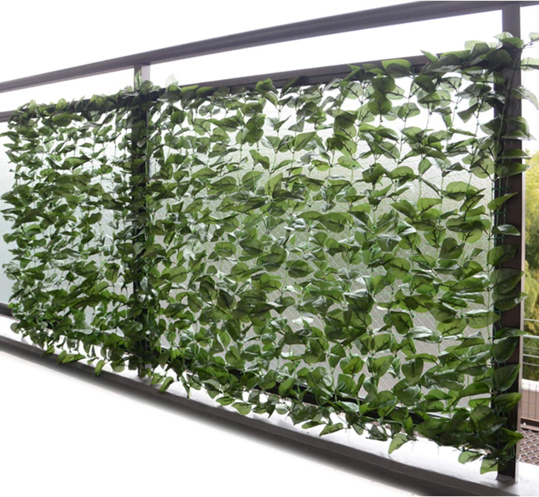 山善(YAMAZEN) グリーンフェンス 約100×200cm 6台セット フォレストグリーン/ハードネット