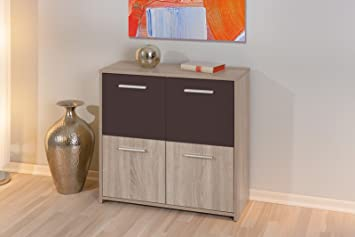 Links buffet spiga commode bahut bas meuble de salon moderne ou