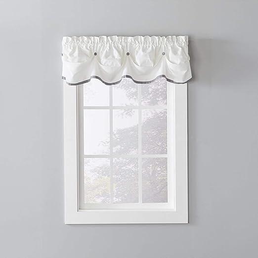Park Designs Manor Pattern Valance 72 x 14 Inches 100/% Cotton 2 Inch Rod Pocket