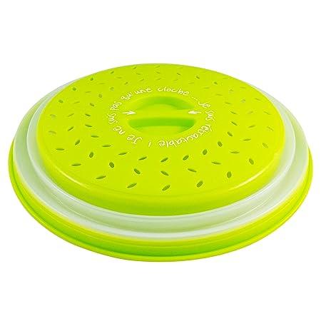 Colonel cook-Campana de cocina para microondas-sin BPA-✮✮GARANTÍA DE POR VIDA✮✮-envase para micro-ondas 3 en 1-Campana para microondas retráctil, ...